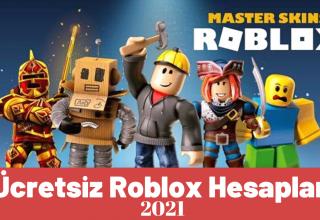 Robux 2021 ile Ücretsiz Roblox Hesapları   Giriş ve Şifre