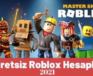 Robux 2021 ile Ücretsiz Roblox Hesapları | Giriş ve Şifre