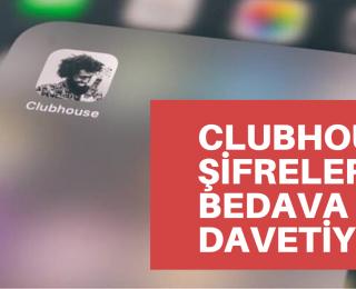 Bedava ClubHouse Davetiyesi, ClubHouse Hesabı Şifreleri
