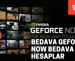 GeForce Now Bedava Premium Hesaplar