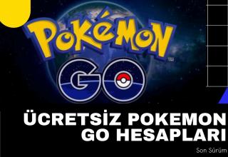 Ücretsiz Pokemon Go Hesapları 2021 Listesi